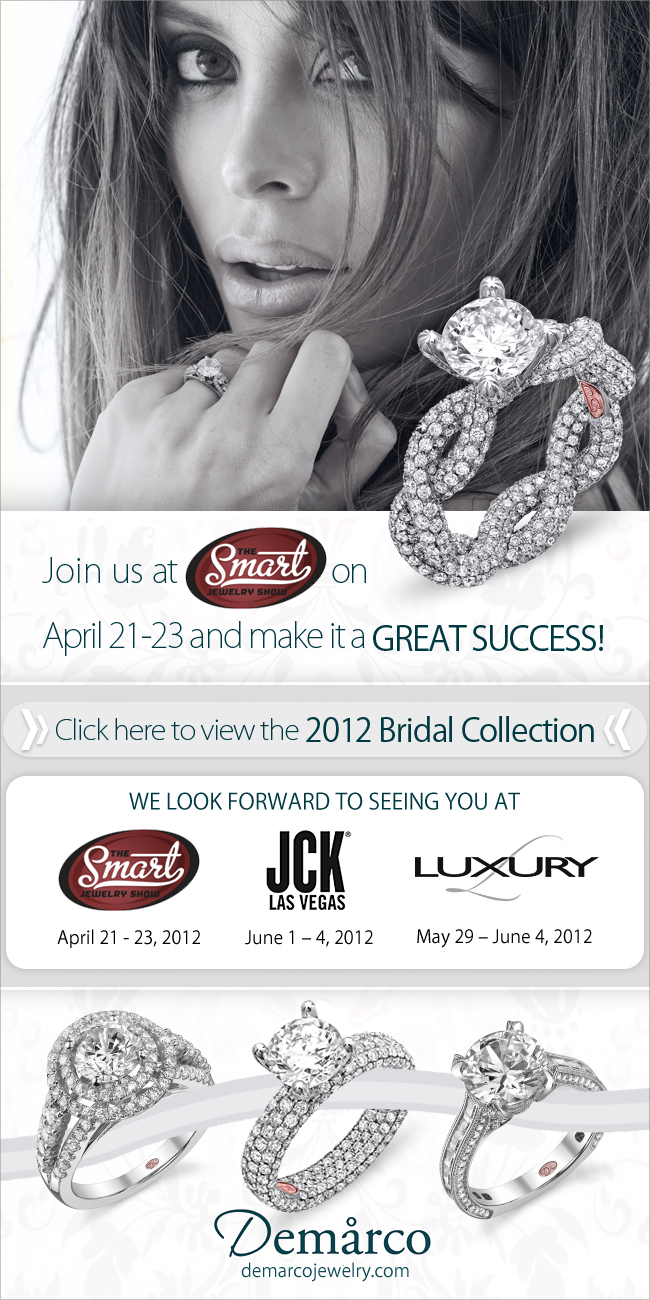 The Smart Jewelry Show Chicago Join Enement Ring Designer Demarco