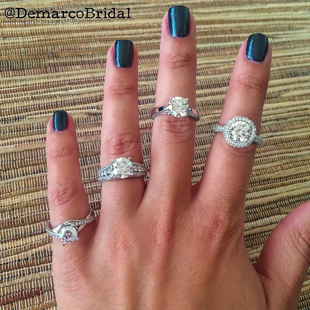 Which finger is your favorite ring from Demarco? • http://www.demarcojewelry.com