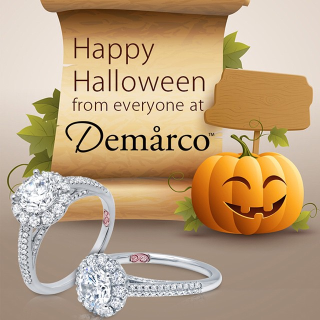 Happy Halloween from Everyone here at Demarco -http://www.demarcojewelry.com/