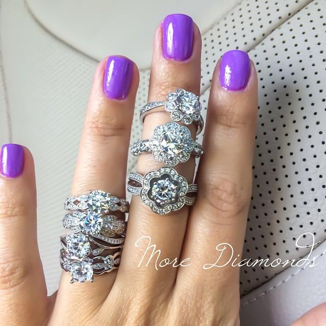 Just playing with Demarco Diamonds • http://www.demarcojewelry.com
