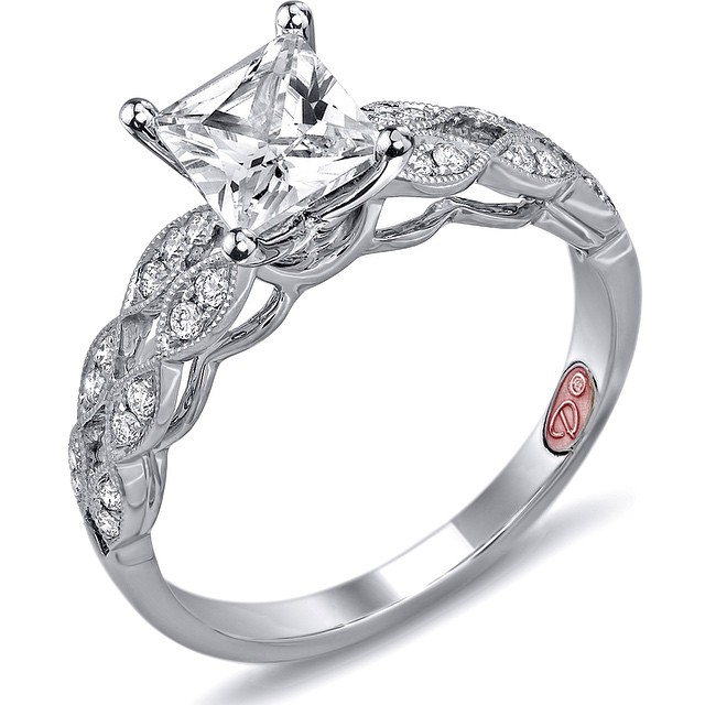 Beautiful #EngagementRing From our Summer 2015 Collection • UNDER $2,000 • http://www.demarcojewelry.com
