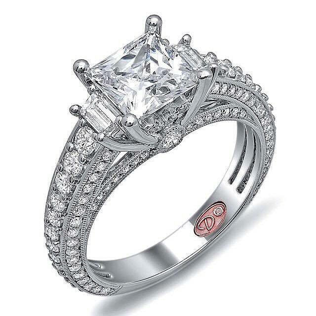 #Demarco #Designer #Engagement #Rings • http://www.demarcojewelry.com | #Jewelry #Ring #Bridal #Wedding #EngagementRing #DesignerJewelry #DesignerRing