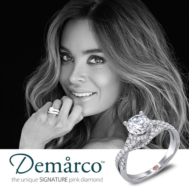 The Ring with the Unique Signature Pink Diamond inside of every Demarco Ring. • Demarco | http://www.demarcojewelry.com