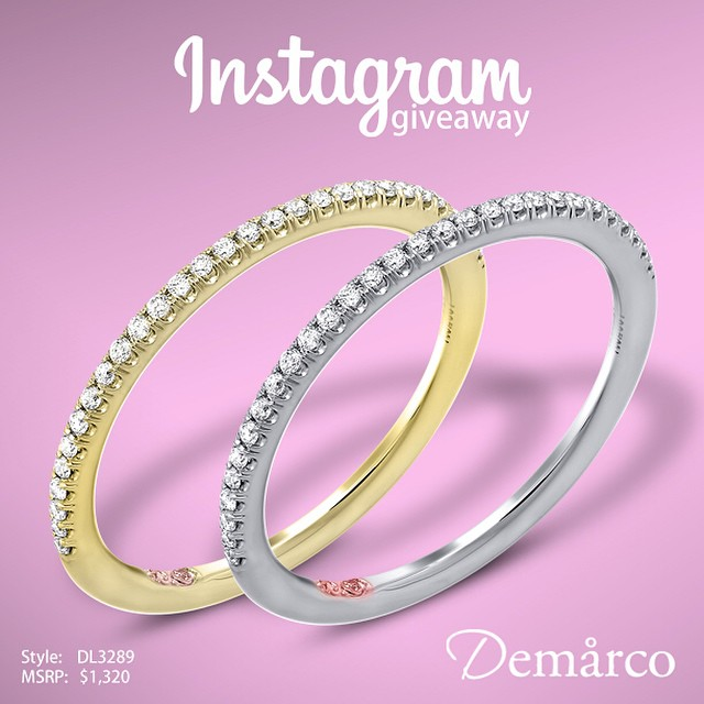 ENTER for your chance to WIN our Instagram Giveaway •  TO ENTER, FOLLOW, LIKE, Post Previous post on your Instagram with#DemarcoBridal and @ Three Friends to WIN •http://www.instagram.com/DemarcoBridal • @DemarcoBridal  Winner will be announced Sep. 30th 2014