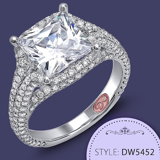They say a picture is worth a thousand words, well this picture of a #Demarco #Engagement #Ring is worth a thousand books! • http://www.demarcojewelry.com/