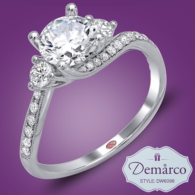 Beautiful On Your Hand and Beautiful To His Wallet - Demarco - DW6098 - http://www.demarcojewelry.com
