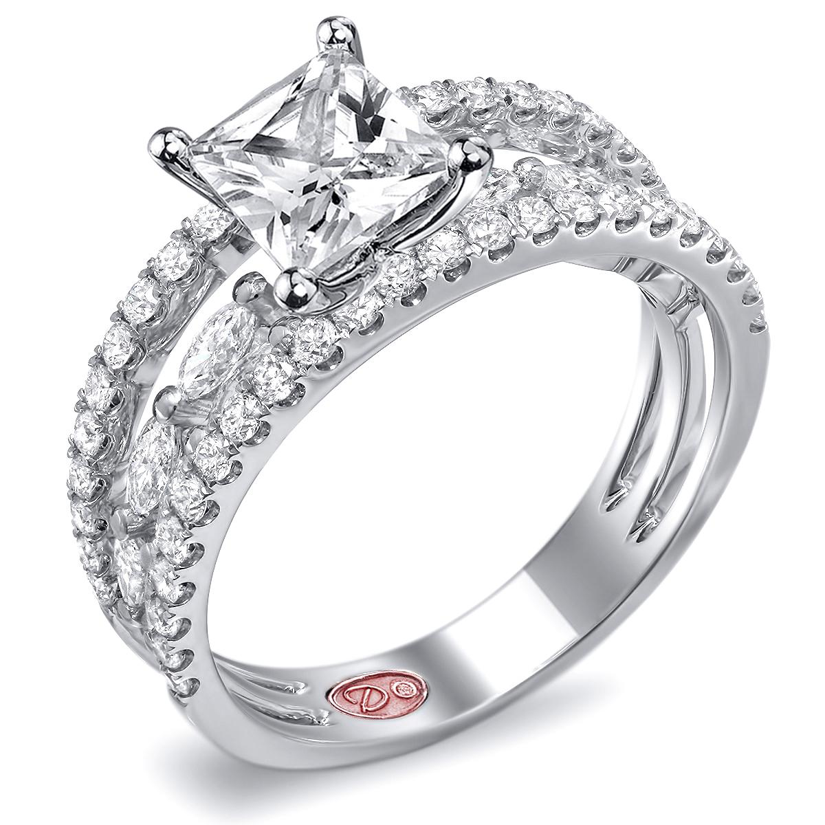 princess cut engagement rings princess cut wedding rings Princess Cut Engagement Rings