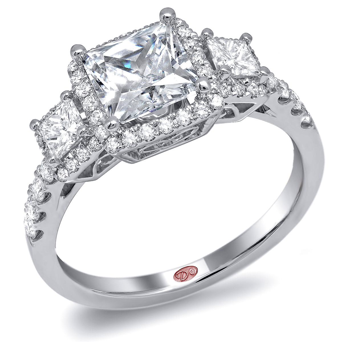 Designer engagement ring dw6211 for Wedding rings designers