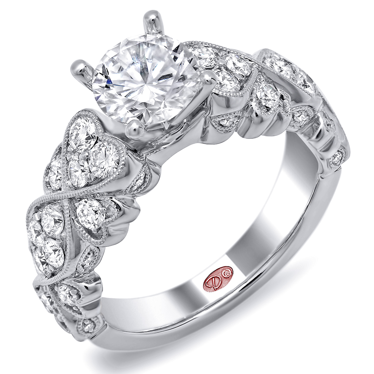 diamonds view by to rings zoom with diamond designer ring pentagonal hover dhadda jewellery w