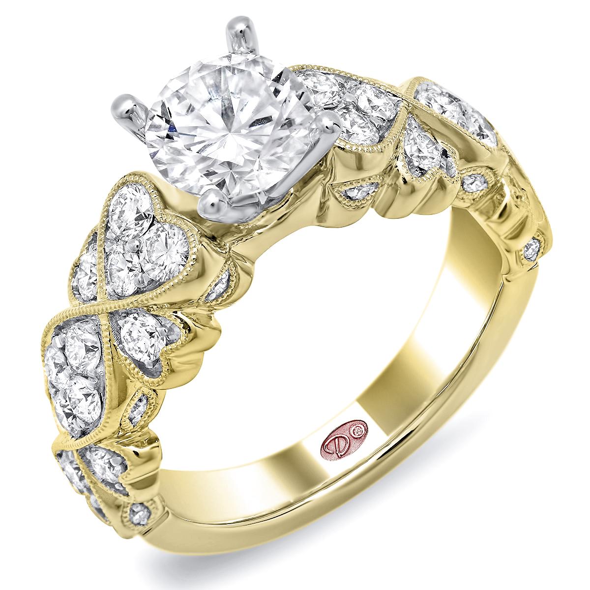Designer Engagement Ring Dw6233