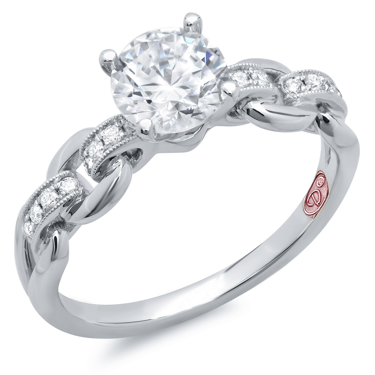 designer engagement rings dw7610 - Beautiful Wedding Rings