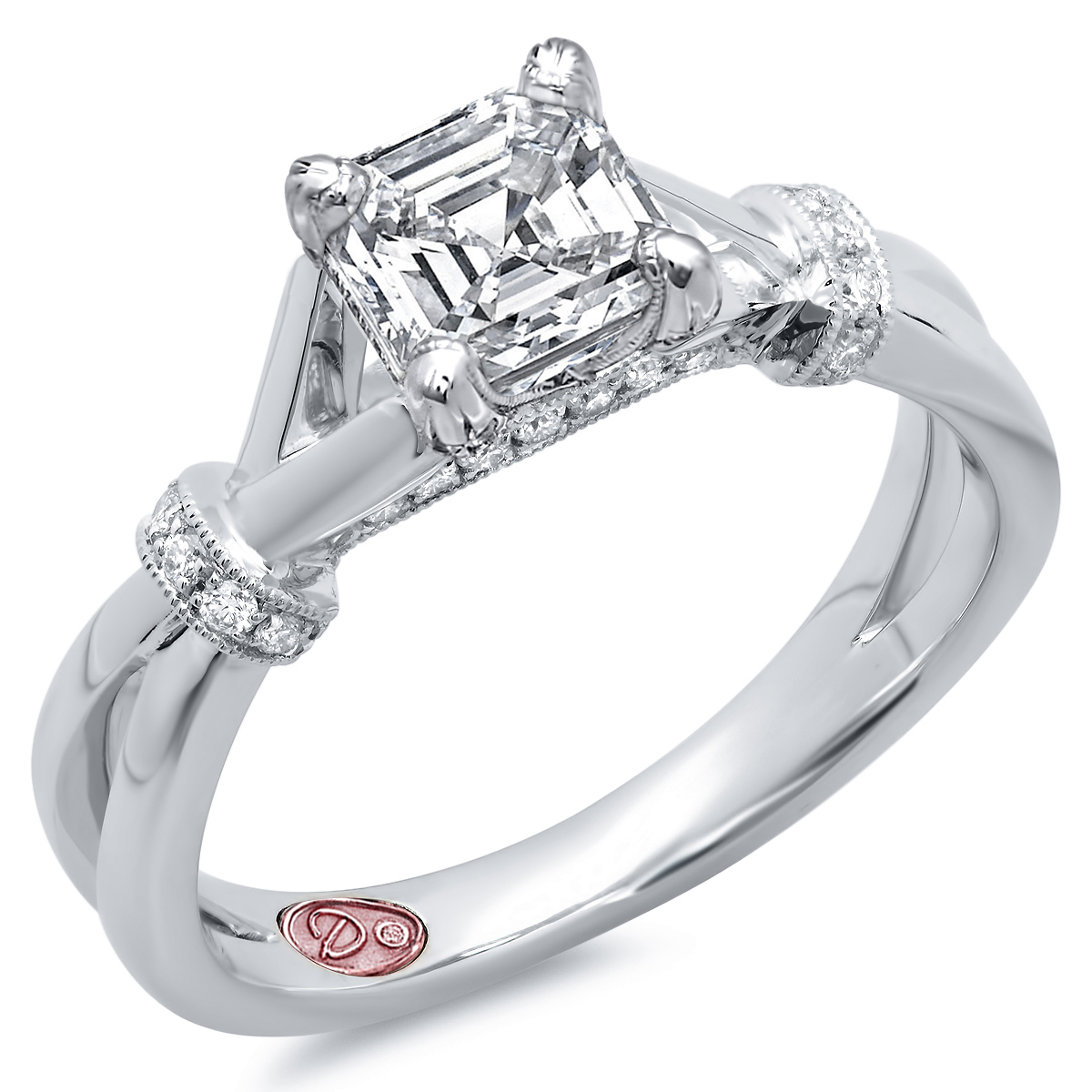 Designer Engagement Rings DW7614