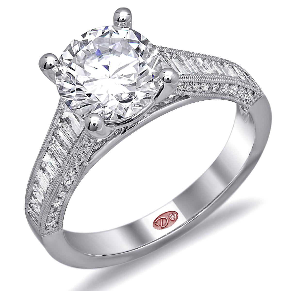 Bridal Ring Set Vidar Jewelry Unique Custom Engagement Wedding Diamond Rings Women Sets Ringolog -  Channel Set Bridal Engagement Rings Demarco Jewelry Official Wedding Ring Sets Bride Groom