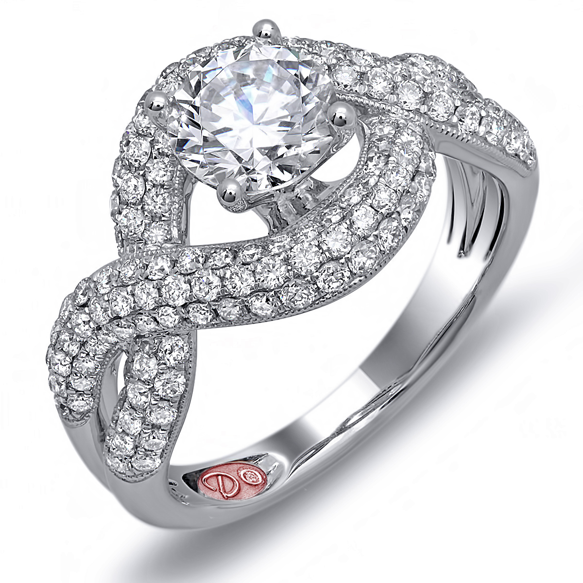 the best of platinum engagement rings demarco bridal