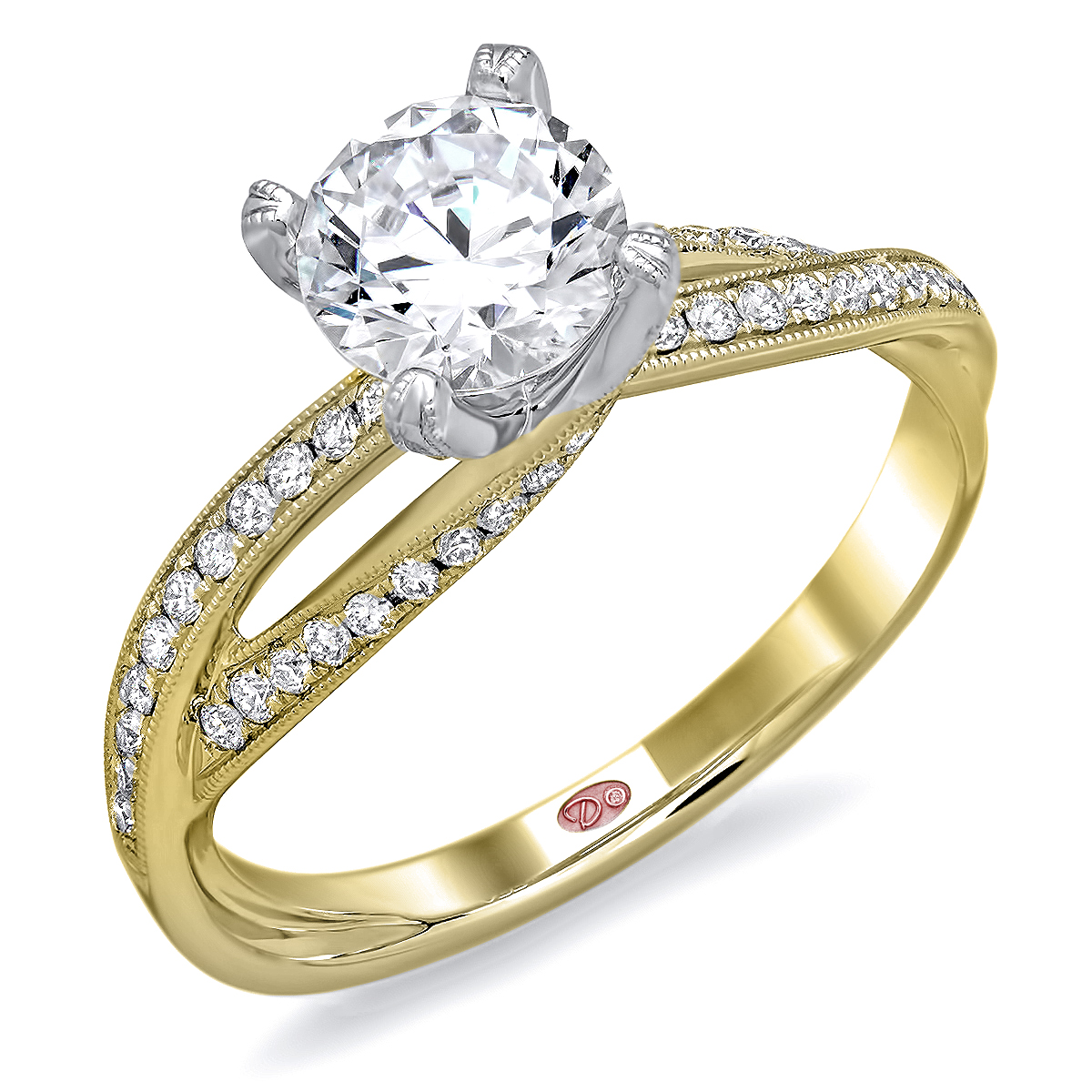 Designer Bridal Rings Dw6079