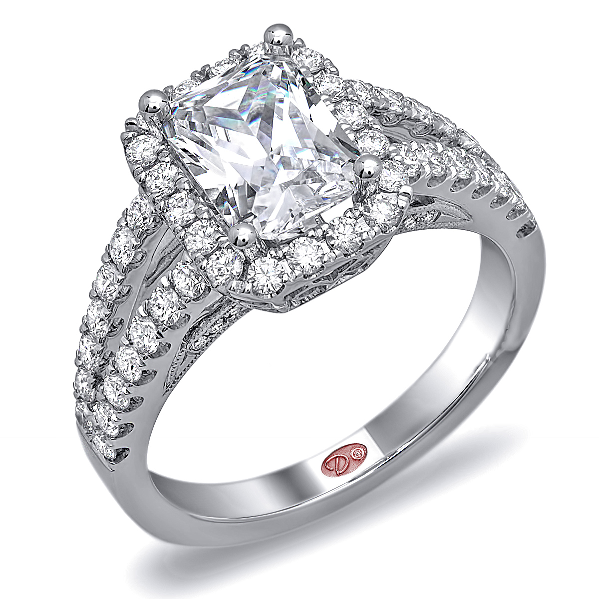 independent jewellers   designer engagement rings - dw6010