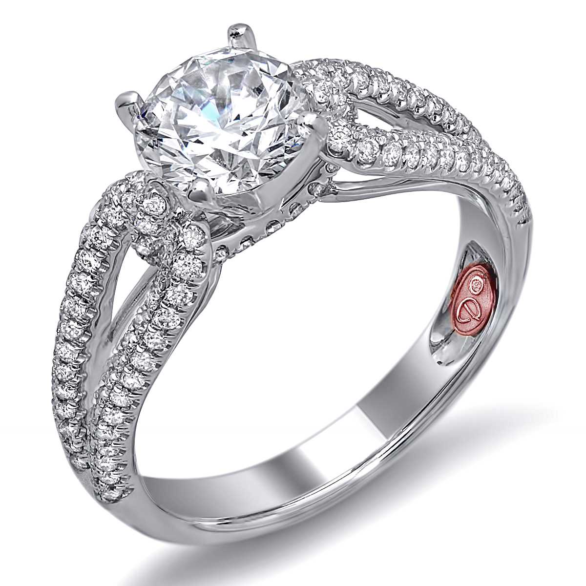 designer bridal rings demarco bridal jewelry