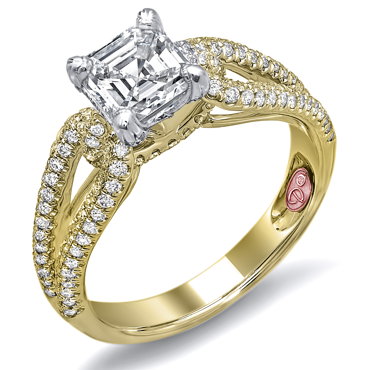 Engagement rings dw6015 for Wedding rings designers