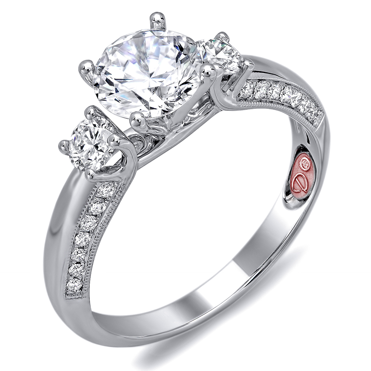 Princess Cut Engagement Ring - DW6093