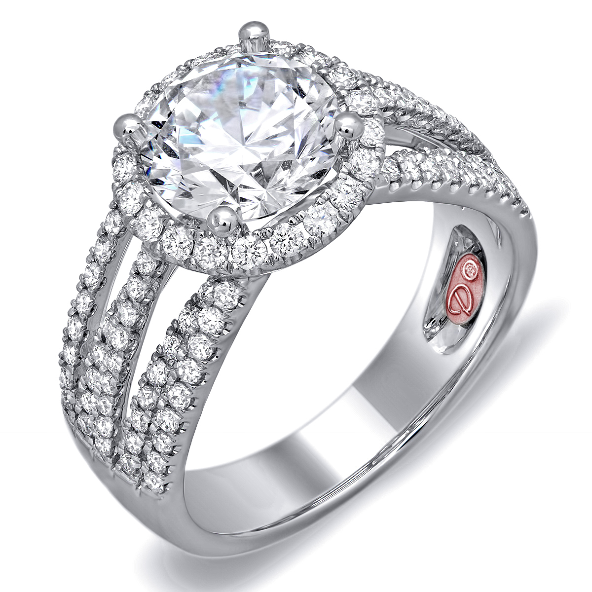 Designer Engagement Rings Dw6105