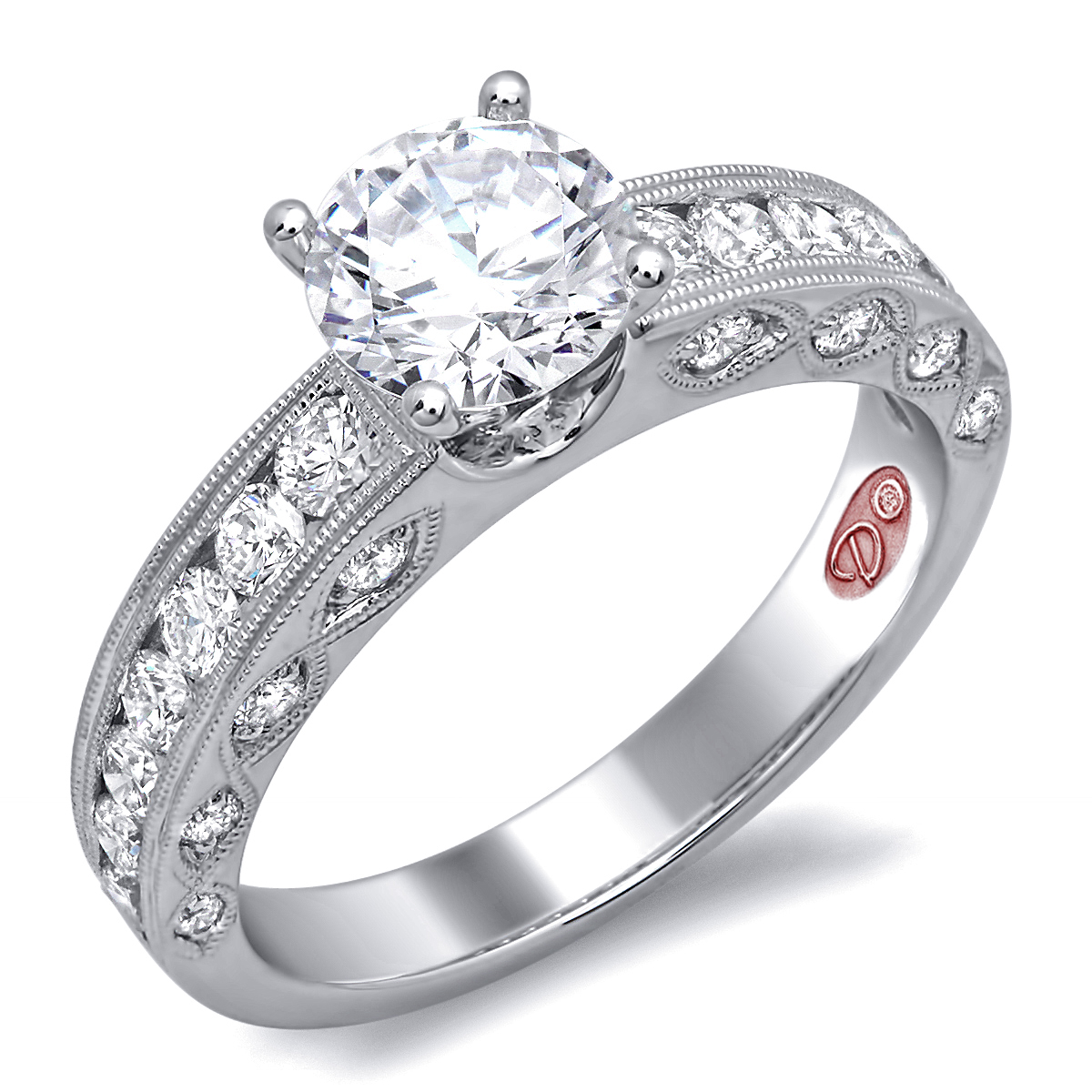 engagement detailed tacori petite ring rings crescent products diamond barmakian