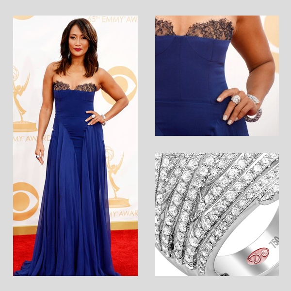 Carrie Ann Inaba wearing Demarco Ring